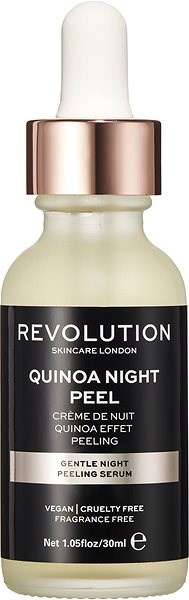 REVOLUTION SKINCARE Gentle Night Peeling Serum - Quinoa Night Peel 30 ml - Peeling