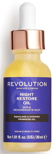 REVOLUTION SKINCARE Night Restore Oil 30 ml - Pleťový olej