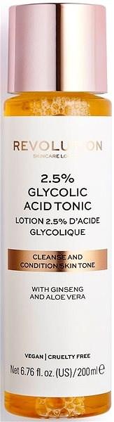 REVOLUTION SKINCARE 2.5% Glycolic Acid Tonic 200 ml - Pleťové tonikum