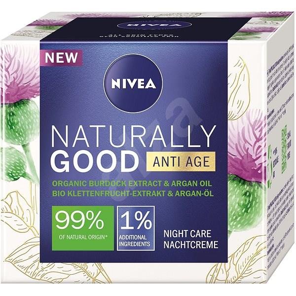 NIVEA Naturally Good Anti-Age Night Care 50 ml - Pleťový krém
