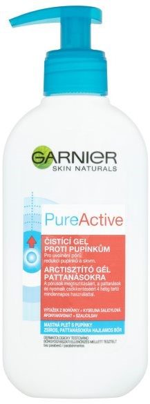 GARNIER Pure Deep Pore Unclogging Gel Wash 200 ml - Čisticí gel