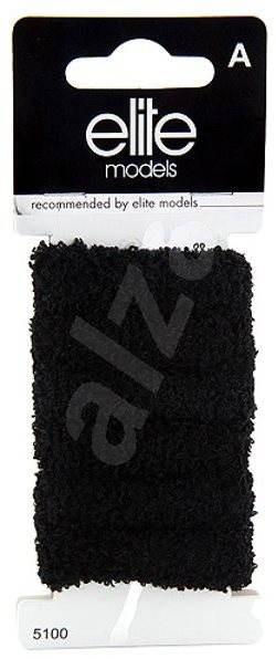 ELITE MODELS Gumičky do vlasů 6 ks Černá - Gumičky  8aa67f9029
