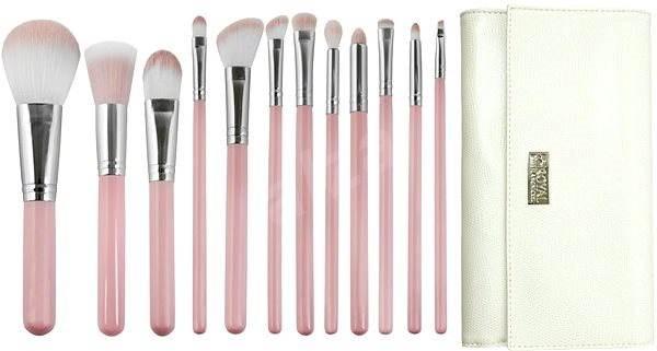 ROYAL & LANGNICKEL Love Is... Kindness ™ Wrap Kit 12 Pcs Pink - Makeup Brush Set