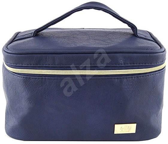 ELITE MODELS Kosmetická taštička kufřík Modro-zlatá - Kosmetická taštička