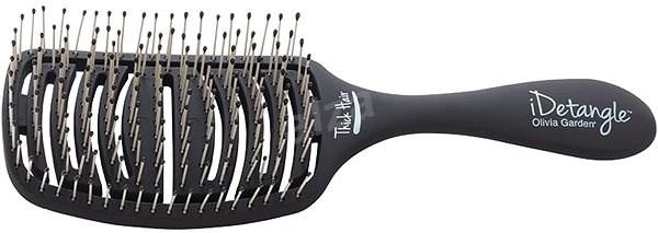 OLIVIA GARDEN iDetangle Thick Hair - Kartáč na vlasy
