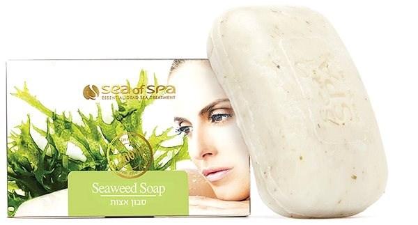 SEA OF SPA Anti-Cellulite Seaweed Soap 125 g - Tuhé mýdlo