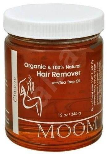 MOOM Hair Remover with Tea Tree BIO 345 g - Epilační pasta