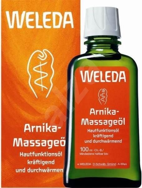 WELEDA Masážní olej s arnikou 100 ml - Masážní olej