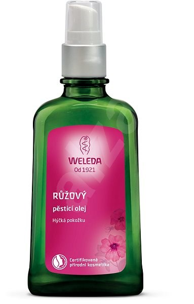 WELEDA Růžový pěstící olej 100 ml - Tělový olej