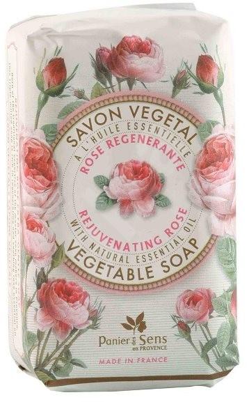 PANIER DES SENS Rejuvenating Rose Vegetable Soap 150 g - Tuhé mýdlo