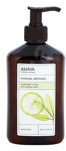 AHAVA Mineral Botanic Body Lotion Lemon & Sage 400 ml - Tělové mléko
