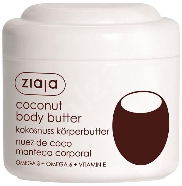 ZIAJA Kokosový ořech Tělové máslo 200 ml - Tělové máslo