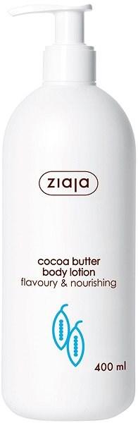 ZIAJA Kakaové máslo Tělové mléko 400 ml - Tělové mléko