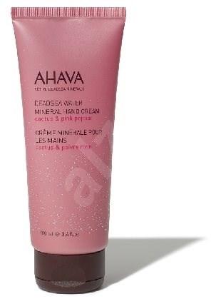 AHAVA Dead Sea Water Mineral Hand Cream Cactus & Pink Pepper 100 ml - Krém na ruce