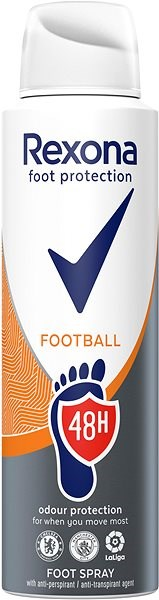REXONA Foot Protection Football 48H 150 ml - Sprej