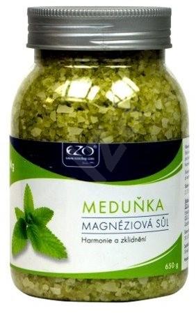 EZO Živá Magnéziová Sůl Meduňka 650 g - Koupelová sůl