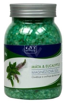 EZO Živá Magnéziová Sůl Máta & Eukalyptus 650 g - Koupelová sůl