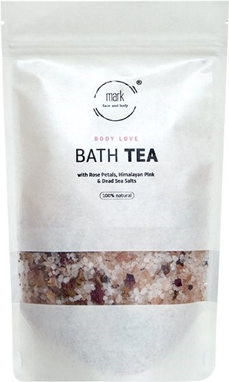MARK SCRUB Bath tea Body Love 400 g - Koupelová sůl