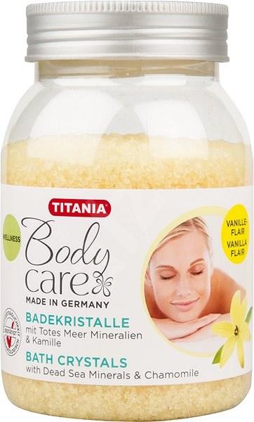TITANIA Koupelová sůl Vanilka 550 g - Koupelová sůl