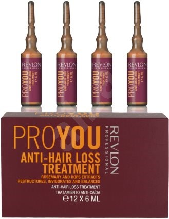 REVLON Pro You Anti-Hair Loss Treatment 12 x 6 ml - Kúra na vlasy