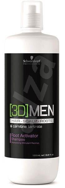 SCHWARZKOPF Professional [3D]Men Root Activator Shampoo 1 l - Šampon pro muže