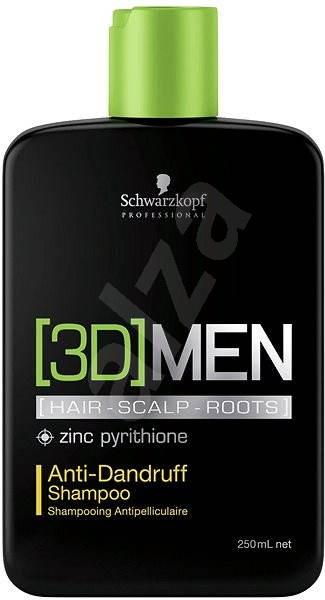 SCHWARZKOPF Professional [3D]Men Anti-Dandruff Shampoo 250 ml - Šampon pro muže