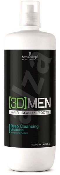 SCHWARZKOPF Professional [3D]Men Deep Cleansing Shampoo 1000 ml - Šampon pro muže