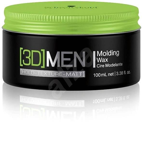 SCHWARZKOPF Professional [3D] Men Molding Wax 100 ml - Vosk na vlasy