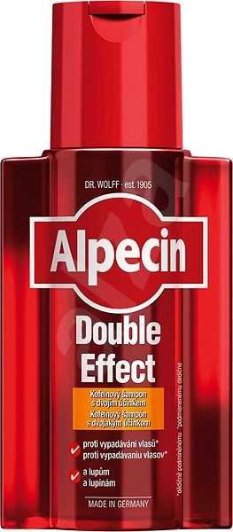 ALPECIN Double Effect Dandruff and Hair Loss Shampoo 200ml - Shampoo