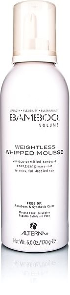 ALTERNA Bamboo Volume Weightless Whipped Mousse 150 ml - Tužidlo na vlasy