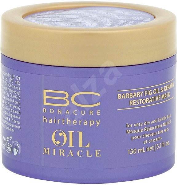 SCHWARZKOPF Professional BC Oil Miracle Barbary Fig Oil Restorative Mask 150  ml - Maska na vlasy 3b2d940bb58