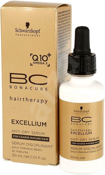 SCHWARZKOPF Professional BC Bonacure Excellium Taming Anti-Dry Serum 30ml - Sérum na vlasy