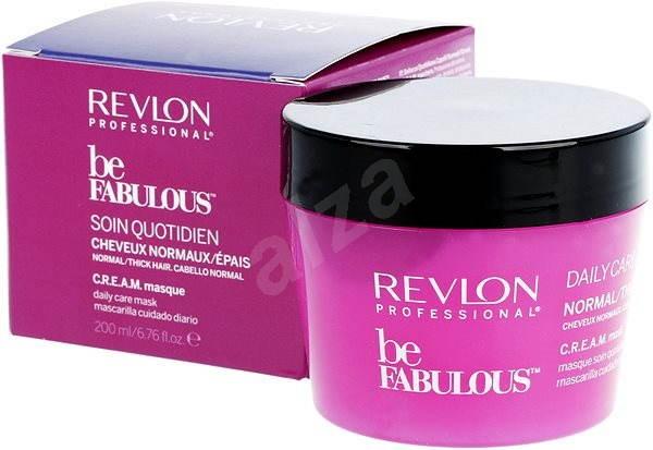REVLON Be Fabulous Normal Thick Cream Mask 200 ml - Maska na vlasy ... 553096faccb