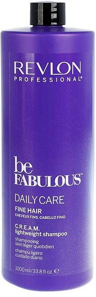 REVLON Be Fabulous Fine Cream Lightweight Shampoo 1 l - Šampon
