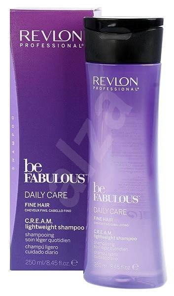 REVLON Be Fabulous Fine Cream Lightweight Shampoo 250 ml - Šampon