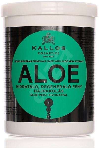 KALLOS KJMN Aloe Vera Moisture Repair Shine Mask 1000 ml - Maska na vlasy