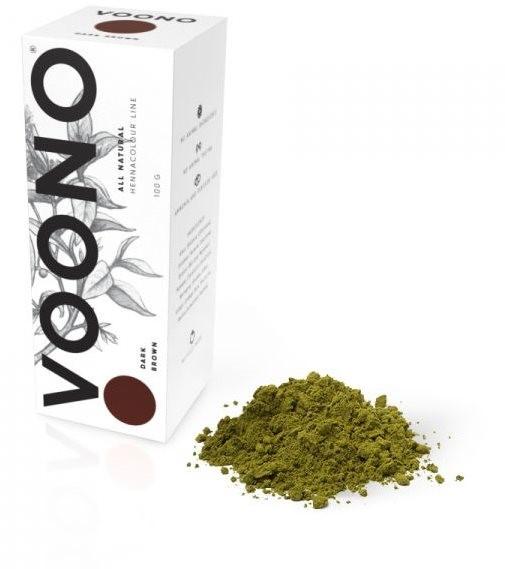 VOONO Dark brown (100 g) - Henna na vlasy