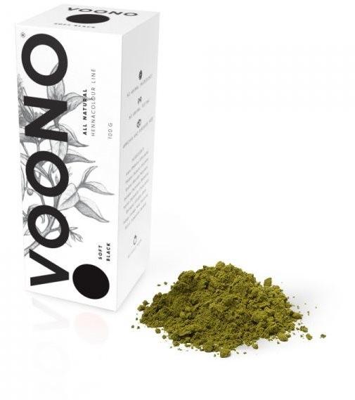 VOONO Soft black (100 g) - Henna na vlasy