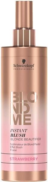 SCHWARZKOPF Professional BlondMe Instant Blush Strawberry Jahoda (250 ml) - Barevný sprej na vlasy