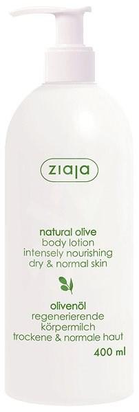 ZIAJA Přírodní oliva Tělové mléko 400 ml - Tělové mléko