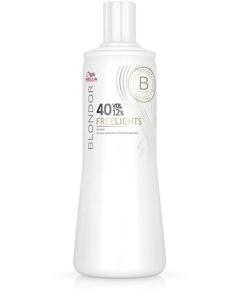 WELLA PROFESSIONALS Blondor Freelights 40 Vol. 12% (1000 ml) - Aktivační emulze