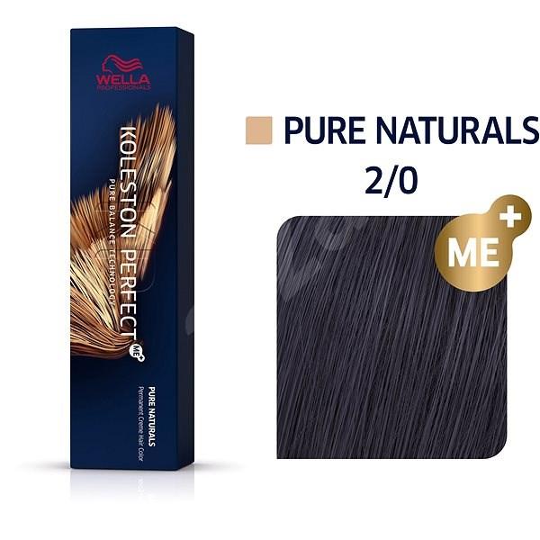 WELLA PROFESSIONALS Koleston Perfect Pure Naturals 2/0 (60 ml) - Barva na vlasy