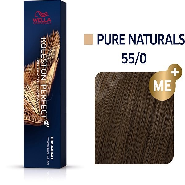 WELLA PROFESSIONALS Koleston Perfect Pure Naturals 55/0 (60 ml) - Barva na vlasy