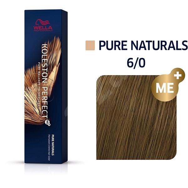 WELLA PROFESSIONALS Koleston Perfect Pure Naturals 6/0 (60 ml) - Barva na vlasy