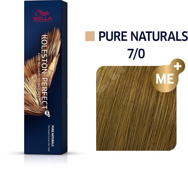 WELLA PROFESSIONALS Koleston Perfect Pure Naturals 7/0 (60 ml) - Barva na vlasy