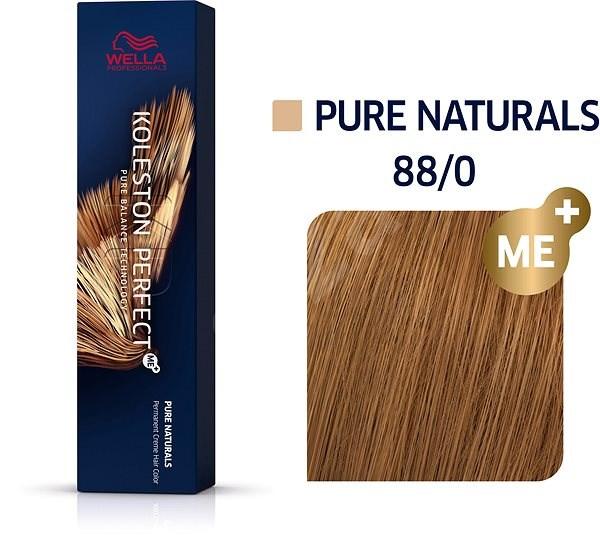 WELLA PROFESSIONALS Koleston Perfect Pure Naturals 88/0 (60 ml) - Barva na vlasy