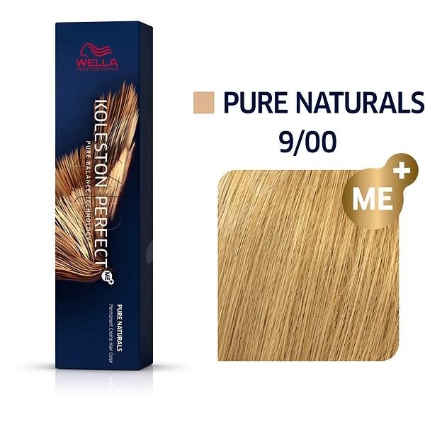 WELLA PROFESSIONALS Koleston Perfect Pure Naturals 9/00 (60 ml) - Barva na vlasy