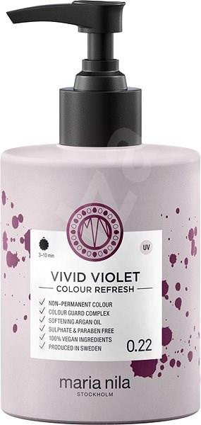 MARIA NILA Colour Refresh Vivid Violet 0.22 (300ml) - Přírodní barva na vlasy