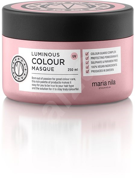 MARIA NILA Luminous Colour  250ml - Maska na vlasy