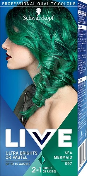 SCHWARZKOPF LIVE 97 Sea Mermaid 50 ml - Barva na vlasy